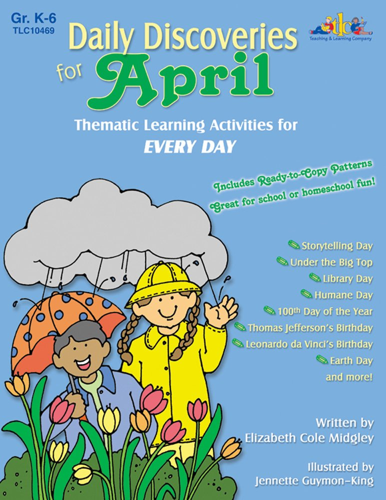 Read Online Daily Discoveries for April: Thematic Learning Activities for Every Day PDF