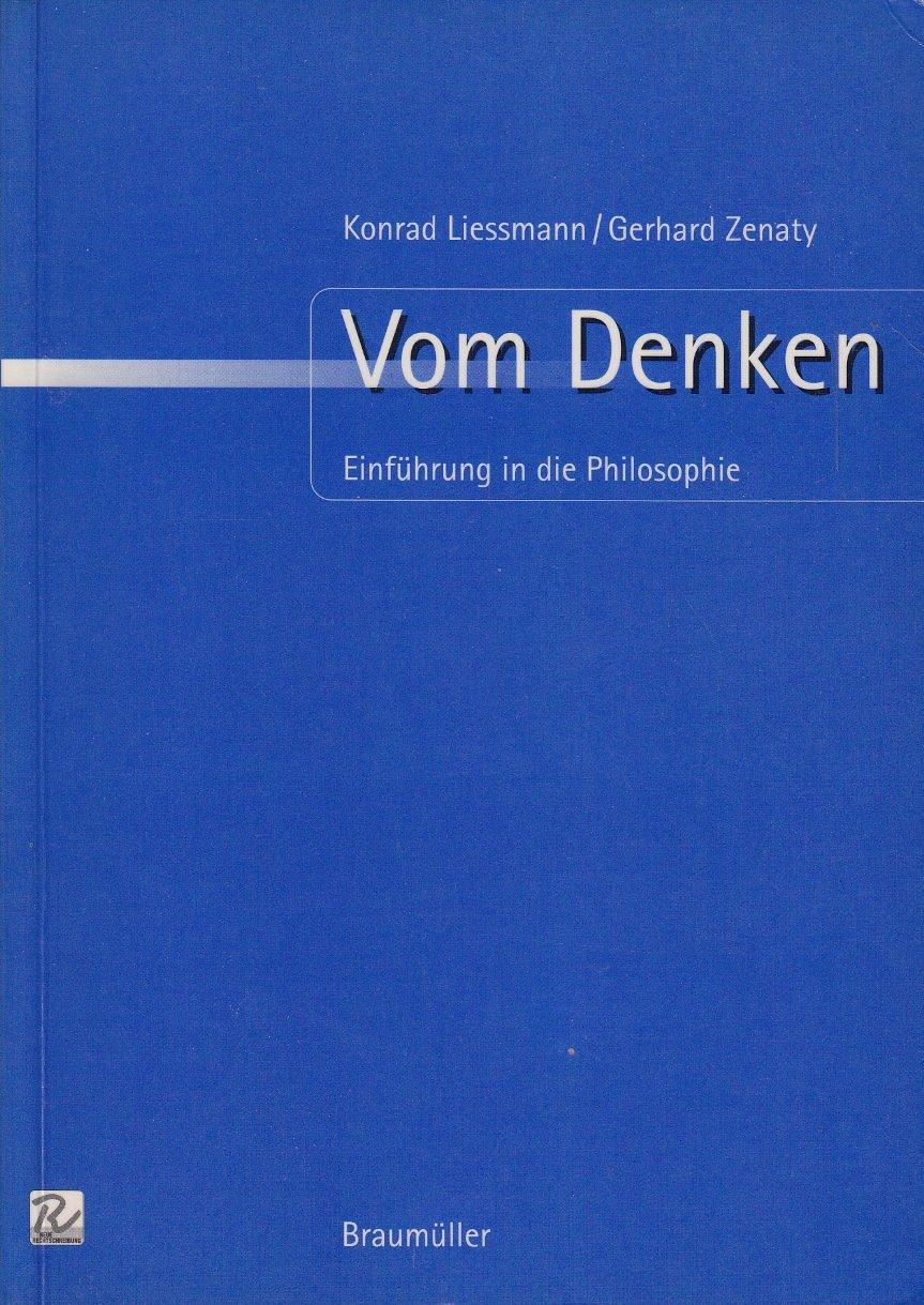 Vom Denken: Einführung in die Philosophie