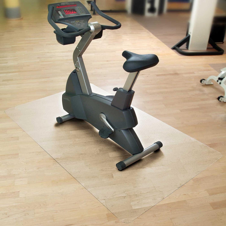 Floordirekt SPORT Bodenmatte Unterlegmatte für Heimtrainer Ergometer Crosstrainer und andere Fitnessgeräte