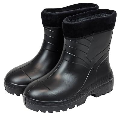 buy online 57609 52daa Gefütterte Gummistiefel Damen Herren Regenstiefel Schuhe ...