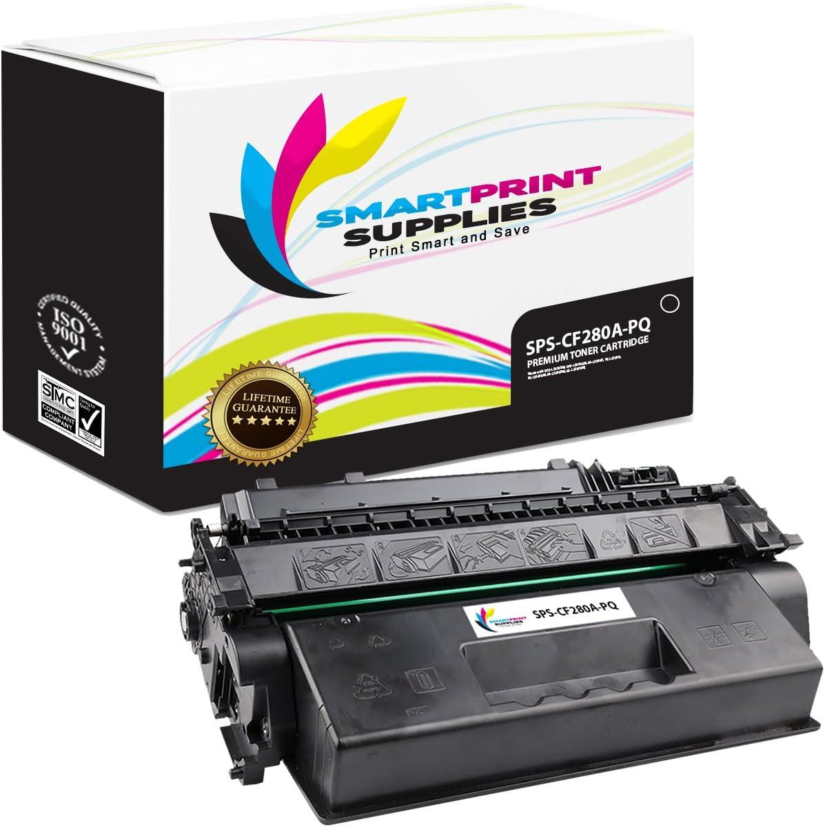 Smart Print Supplies Compatible 80A CF280A Black Premium Toner Cartridge Replacement for HP Laserjet Pro 400 M401 M425 Printers (2,700 Pages)