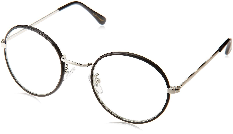 Amazon | (スナイデル)snidel ヴィンテージライクグラス SWGG164654 9 BLK F | ファッション眼鏡 通販