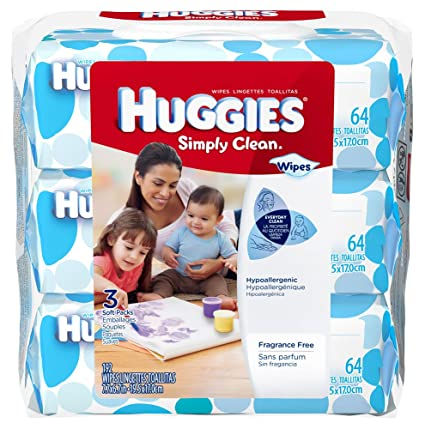 Huggies Simply clean toallitas – 192-ct