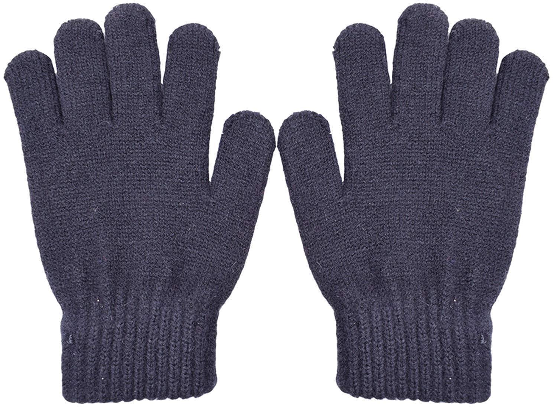PZLE Kids Magic Gloves Knit Cashmere Winter Warm 2//3 Pairs