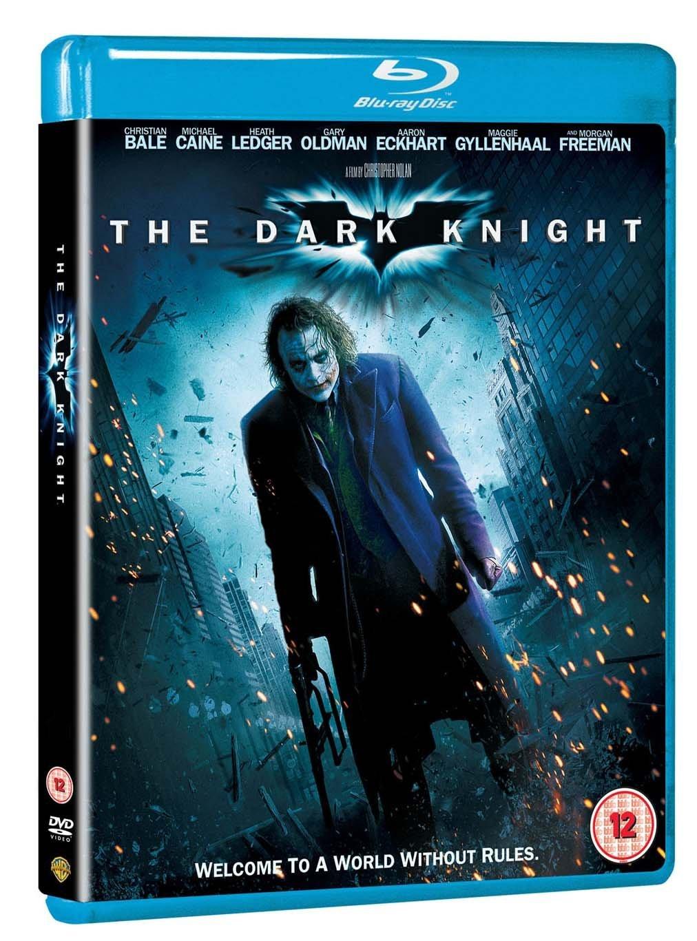 The Dark Knight [Batman] [2 Disk Special Edition] [Blu-ray] [2008] [Region Free]