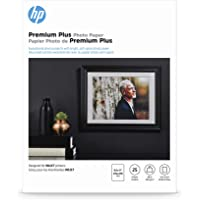HP Premium Plus Photo Paper | Soft Gloss | 8.5x11 | 25 Sheets