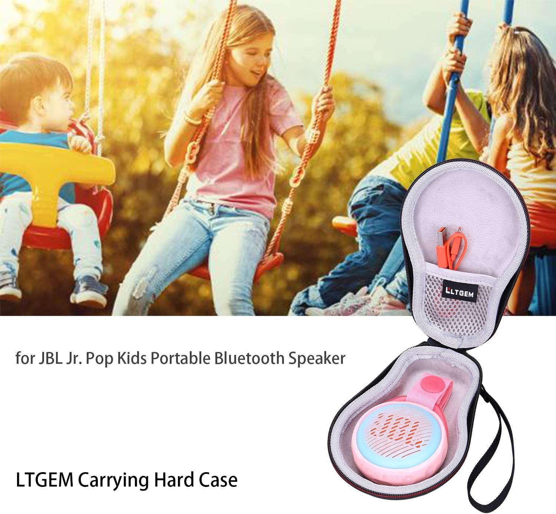 Travel Protective Carrying Storage Bag Pop Kids Portable Bluetooth Speaker LTGEM EVA Hard Case for JBL Jr