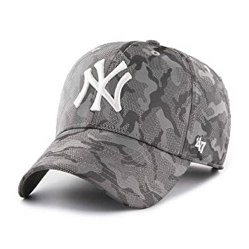 47 Brand New York Yankees Smokelin MVP Adjustable MLB Cap  Amazon.co.uk   Sports   Outdoors 4ed36851eabf9