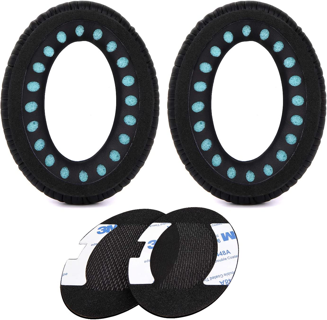 Ae2 Quiet Comfort 15 QC 25 QuietComfort 35 Headphones Sound True JARMOR Ear Cushion for Bose QuietComfort 2 QC15 Replacement Ear Pads Kit Around-Ear Only Sound Link Black Ae2i Ae2w