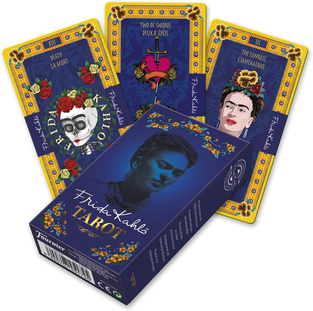 Fournier- Frida Kahlo Mazo de Tarot para Coleccionistas, Color ...