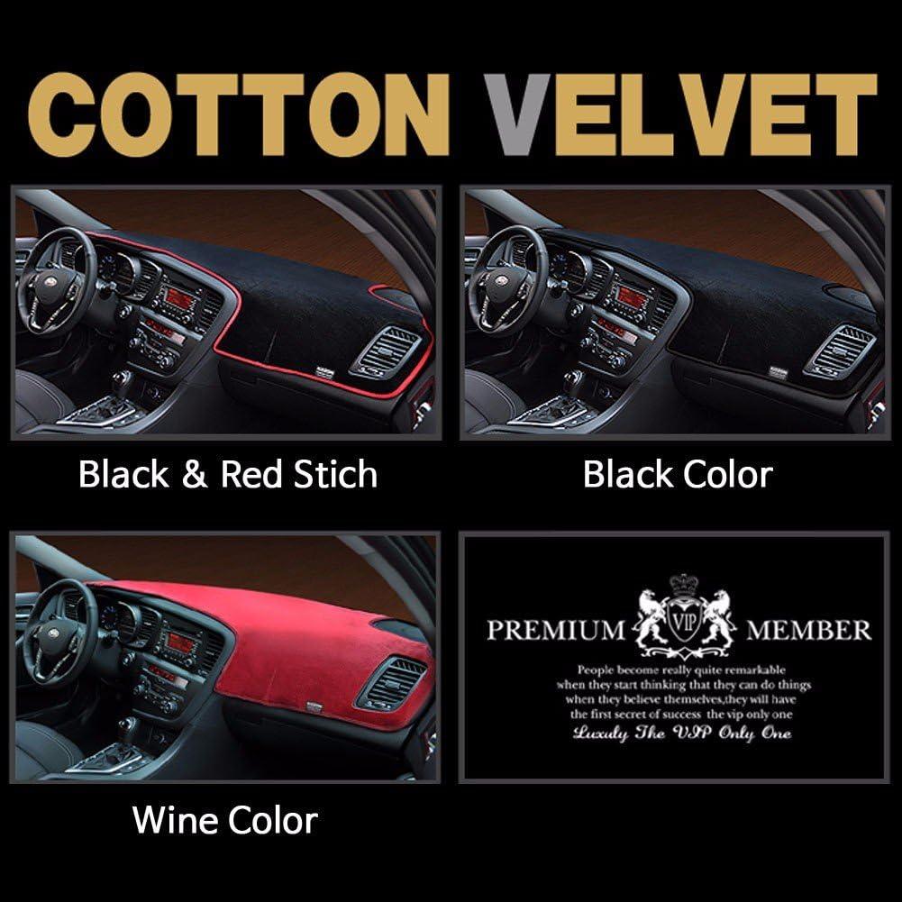Velour Covercraft Custom Fit Dash Cover for Select Kia Soul Models 71854-00-62 Navy