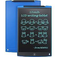 """NEWYES 12"""" Tableta de Escritura LCD, Tableta gráfica, Ideal para hogar, Escuela u Oficina. Pilas Incluidas y 2 Imanes…"""