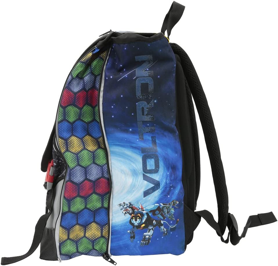 Voltron 18 Zaino Estensibile Multi Con Gadget Sangle Stampato Multicolore