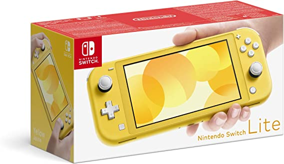 Nintendo Switch Lite - Yellow [Importación inglesa]: Amazon.es: Videojuegos