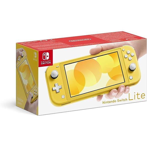 Nintendo Switch Lite - Consola color Amarillo, Edición ...