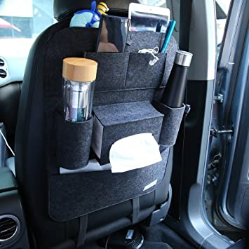 Hemma BRUKET protectores de coche asiento trasero Organizador de ...
