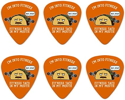 Toilet Paper and Poop Emoji Friends Novelty Guitar Picks Medium Set of 6