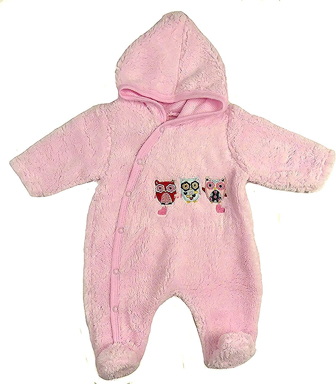 Bebe Bonito Baby Fleece All in one Lightweight All in One Snowsuit NB 0-3m 3-6m