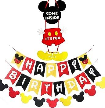 Amazon.com: Mickey inspirado en el ratón, suministros de ...