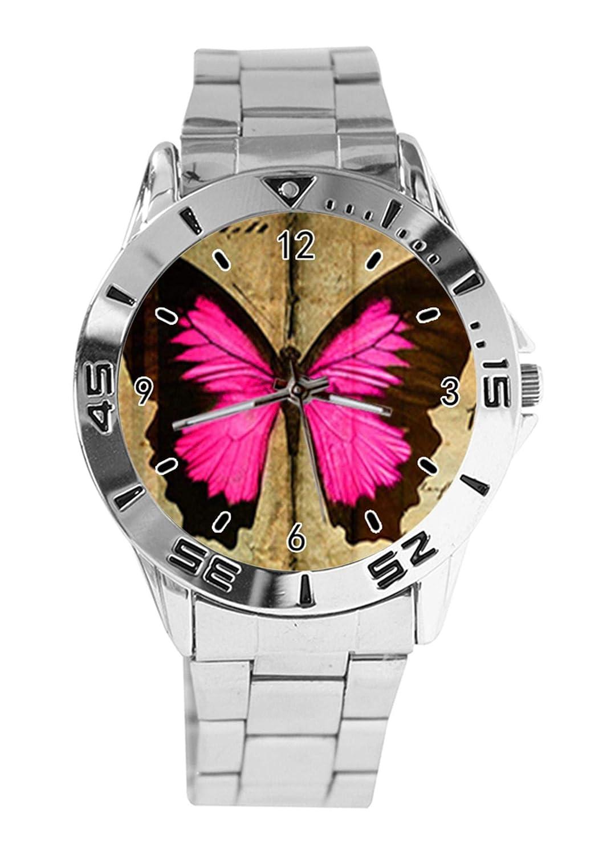 Reloj de Pulsera analógico con diseño de Mariposa, Esfera ...