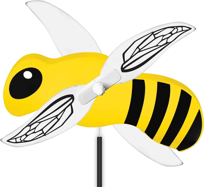 WindNSun WhirlyGig Outdoor Animated Decor, Bumble Bee