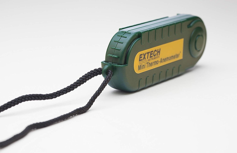 Extech 45158 Thermo-an/émom/ètre compact avec Hygrom/ètre