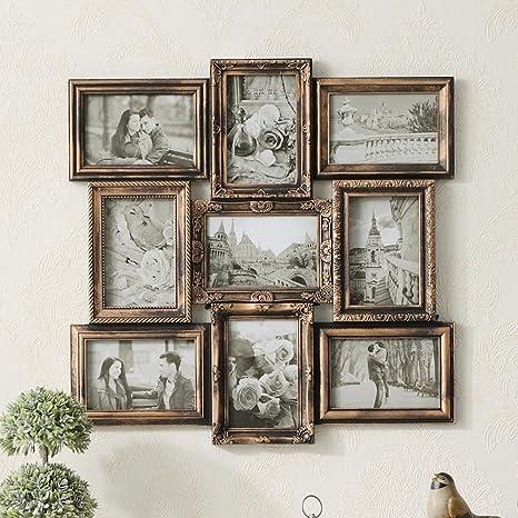 Paredes Combo Marcos de cuadros de época Portarretratos Salón Dormitorio