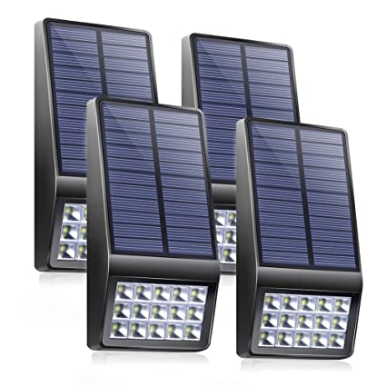 Solar Lamps Outdoor Lighting Waterproof Solar Panel Power Led Motion Sensor Light Energy Saving Garden Landscape Security Triangle Wall Lamp Keep You Fit All The Time