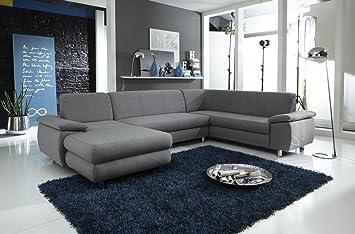 Dreams4Home Polstersofa \'Spike\', Sofa, Wohnzimmer, braun, grau ...