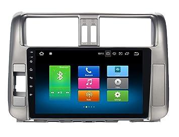 """Roverone 10.2""""Android 8.0 Octa Core Autoradio Coche Reproductor de GPS para Toyota Prado 150"""