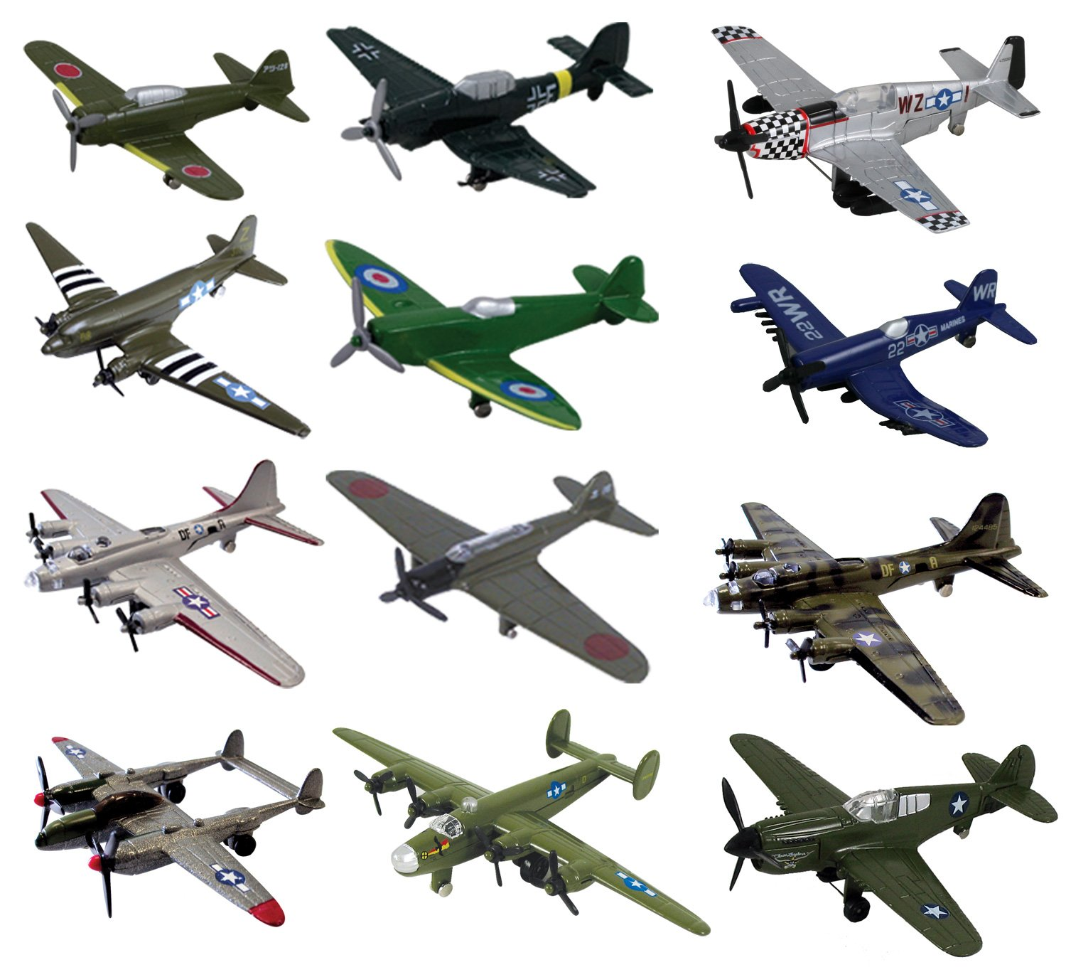 InAir Assortments - (2 Pack - WWII Assortment)