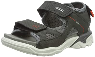 20355724919051 Amazon.com   ECCO Boys' Biom Raft Open Toe Sandals (Dark Shadow 602 ...