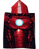 Marvel Avengers Poncho Hooded Beach Towel or Bath - Iron Man