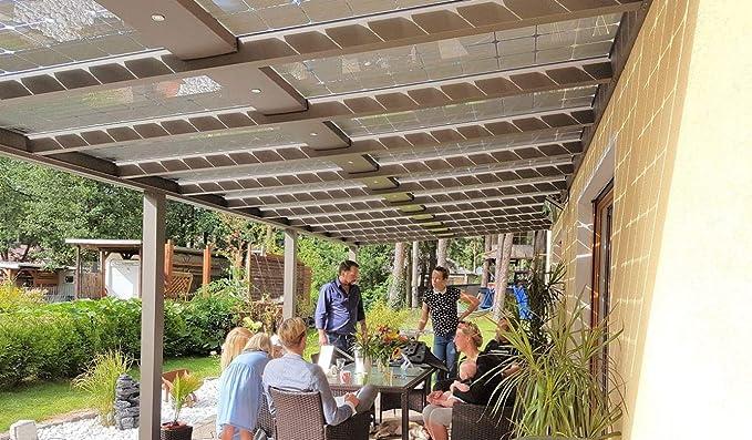 Premium Solar Cristal PS de 165 m Cristal de Cristal Solar Módulo prikker-überdachungen: Amazon.es: Bricolaje y herramientas