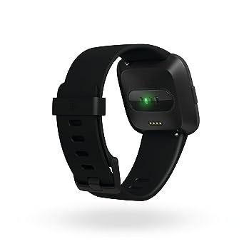 Reloj inteligente Fitbit Versa, talla única (correas S y L ...