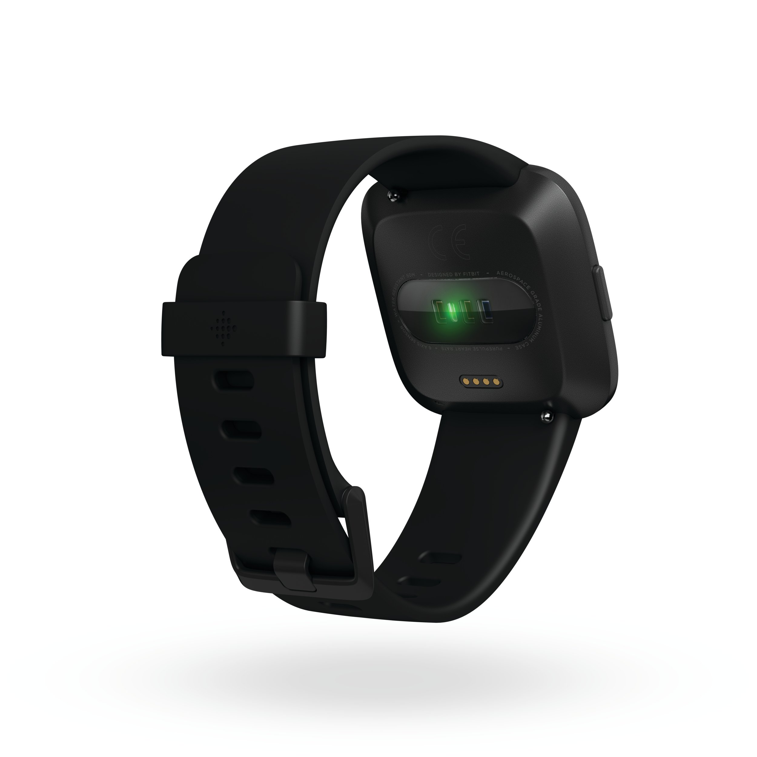 Fitbit Versa Smartwatch, Black/Black Aluminium, One Size (S & L Bands Included) by Fitbit (Image #5)