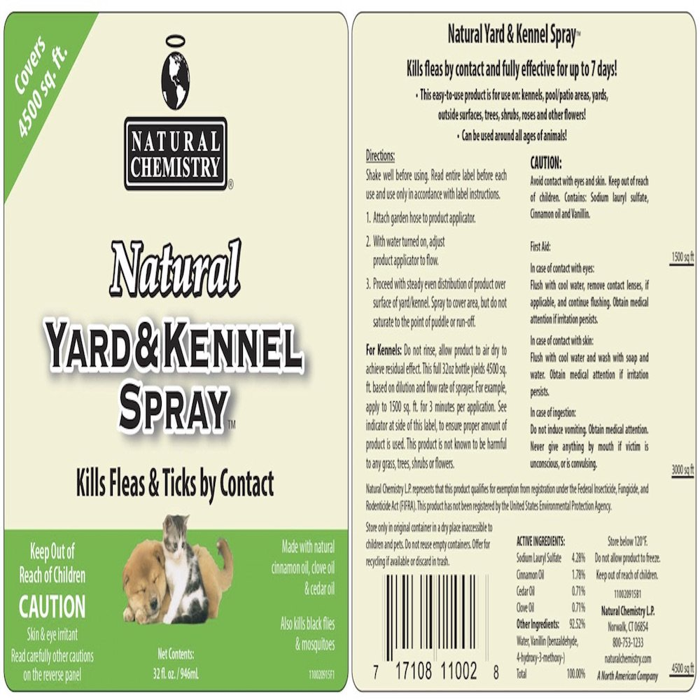 amazon com natural yard and kennel flea u0026 tick spray with