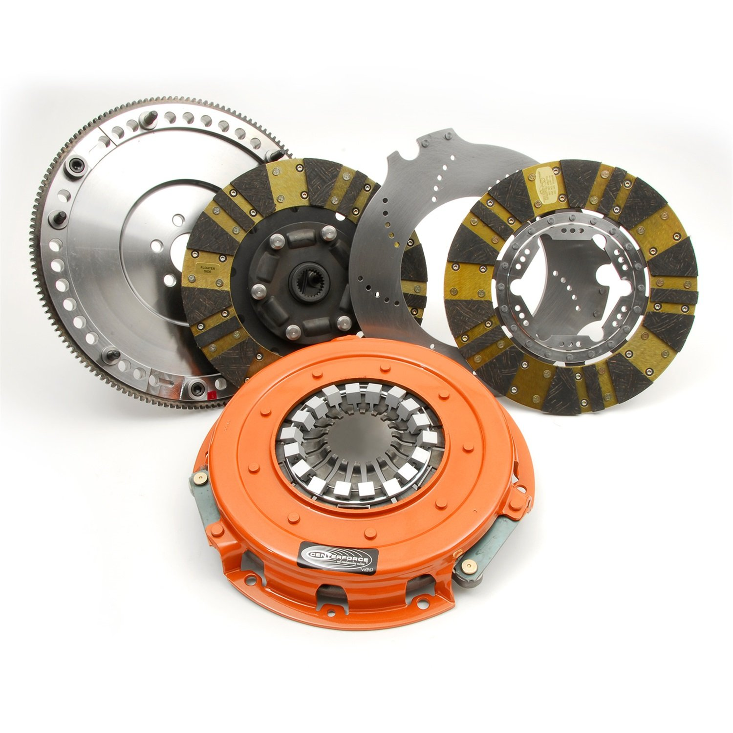 Centerforce 04115700 DYAD Drive System Twin Disc Clutch