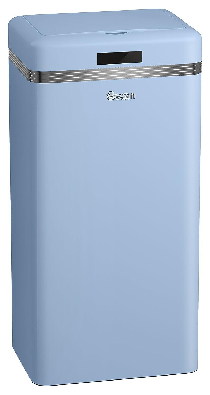 Swan SWKA4500BLN Retro Square Sensor Bin with Infrared Technology ...