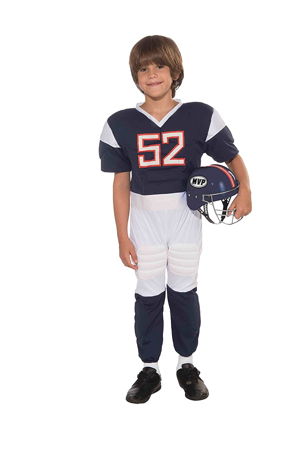 Amazon.com Forum Novelties Football Player Childu0027s Costume Small Toys u0026 Games  sc 1 st  Amazon.com & Amazon.com: Forum Novelties Football Player Childu0027s Costume Small ...