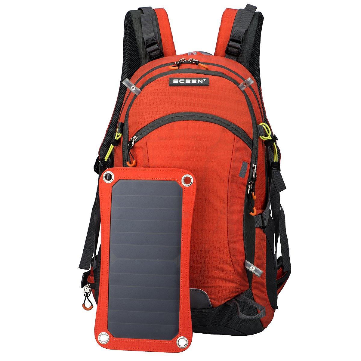 Außenrahmen-Rucksack mit Solar-Handy-Ladegerät, 10000-mAh ...
