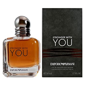 4569e9be124 Buy Giorgio Armani Stronger With You Eau de Toilette Spray For Men - 50ml  Online at Low Prices in India - Amazon.in