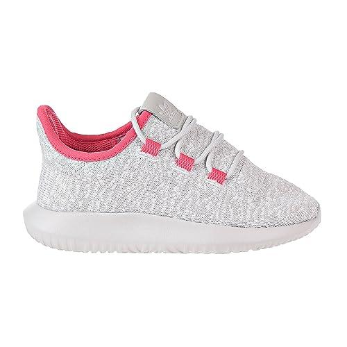c53eff619848 adidas Tubular Shadow C Little Kid s Shoes Grey One Real Pink Grey One  bb8024