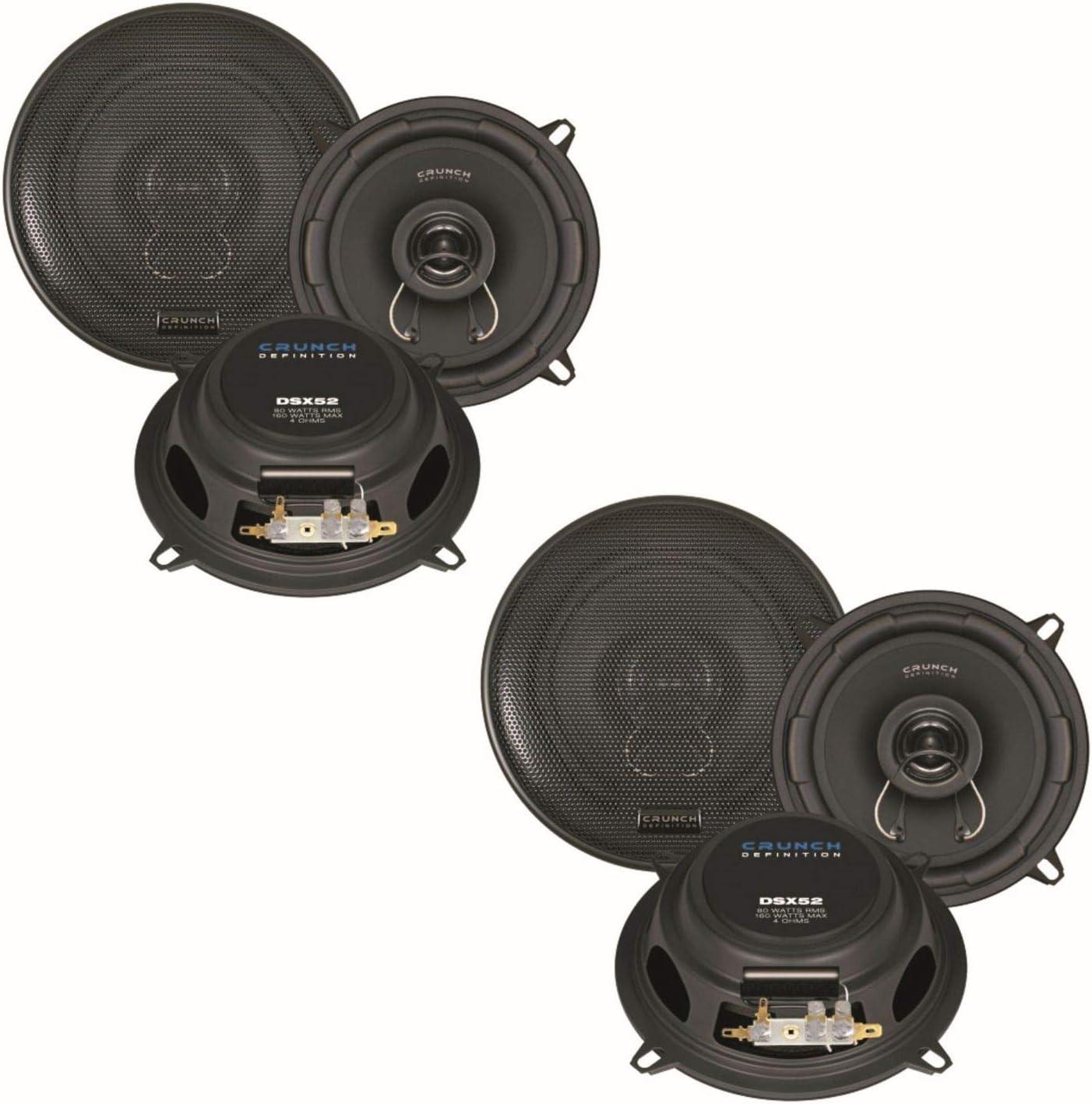Crunch Dsx52 2 Wege Koaxial Lautsprecher System Boxen Elektronik