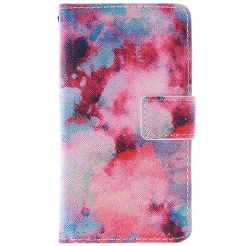 Carcasa Samsung Galaxy Alpha G850F Piel,Funda Con Tarjetero ...