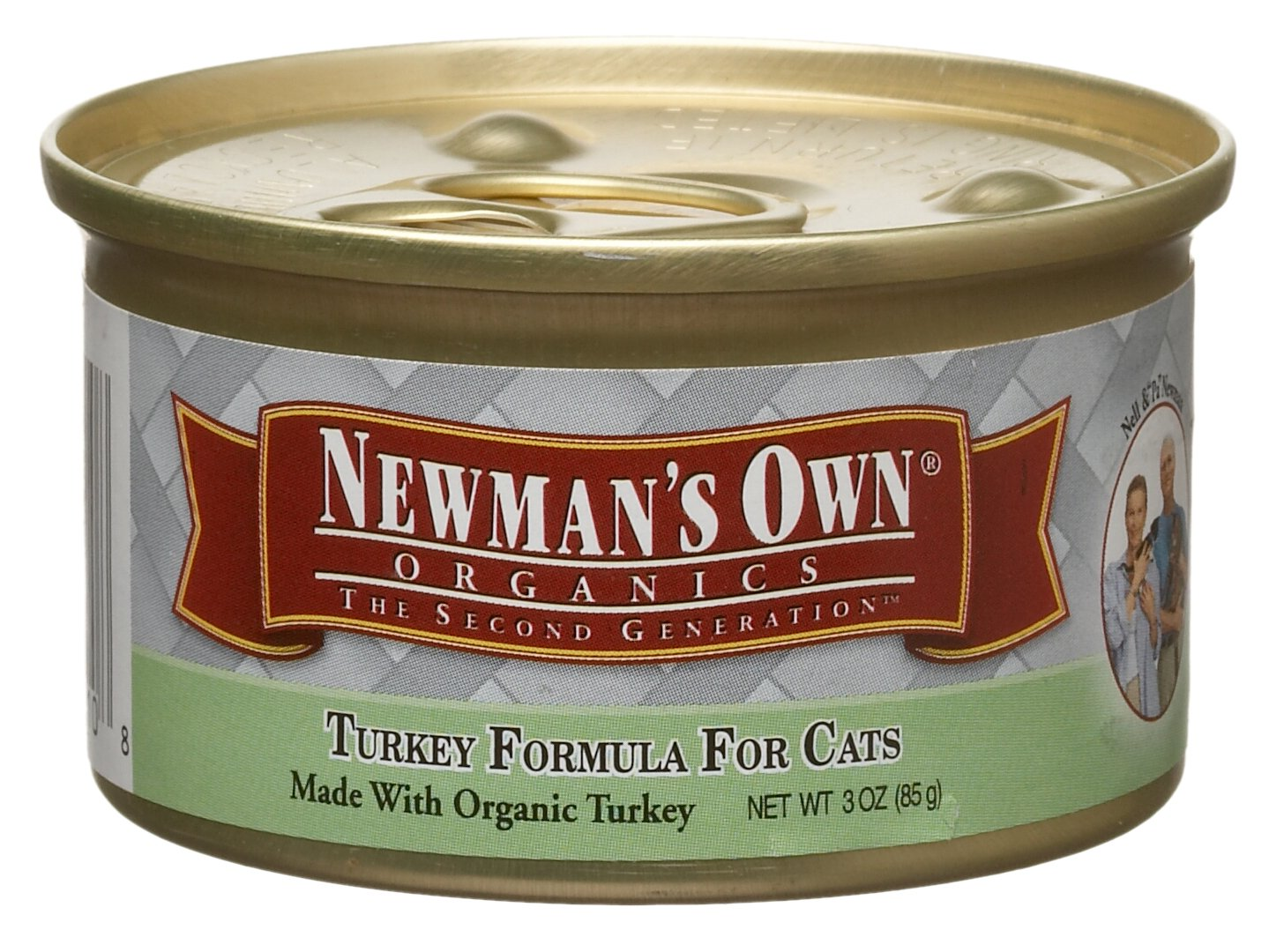 Newmans Own Organics Cat Can-turkey Formula, 3-Ounce Units (Pack of 24)