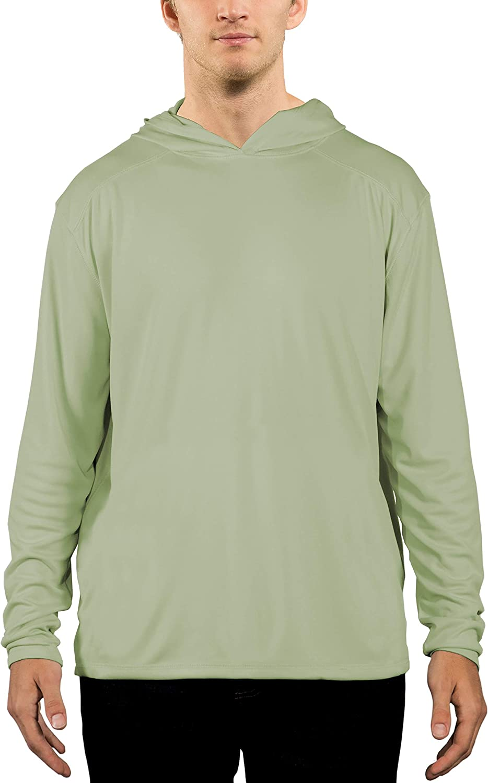 Vapor Apparel Men's UPF 50+ UV Sun Protection Outdoor Performance Long Sleeve Hoody