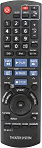 New N2QAYB000514 Replace Remote Fit for Panasonic Home Theater Receiver SC-PT480 SA-PT480 SC-PT480P-K