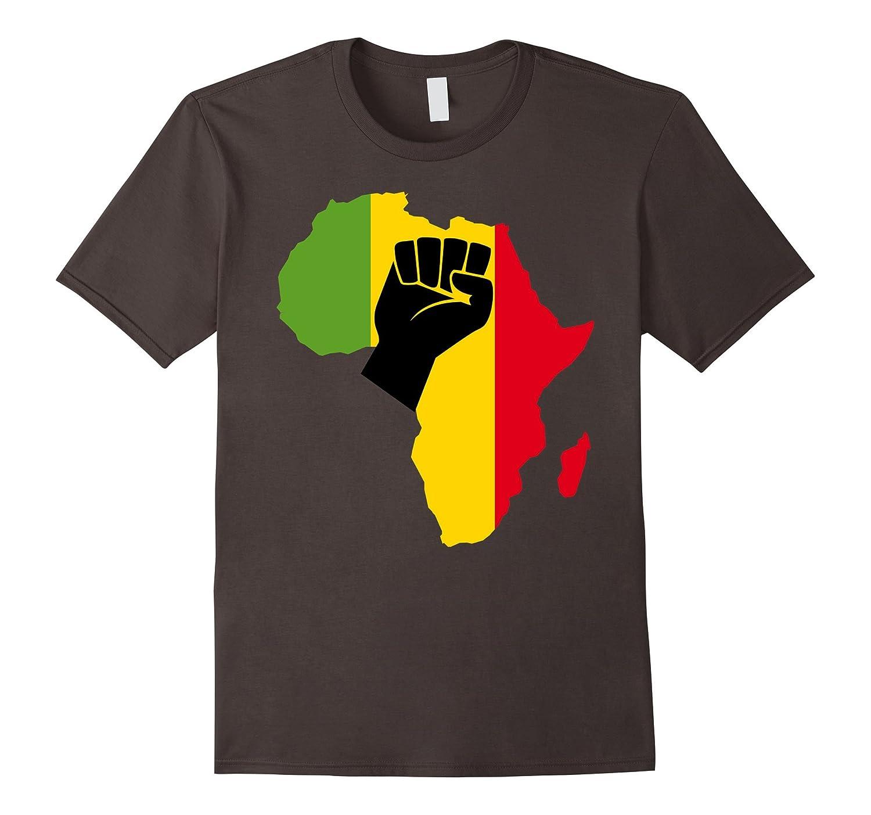 Africa Black Power Africa Map Fist African T-Shir-ah my shirt one gift