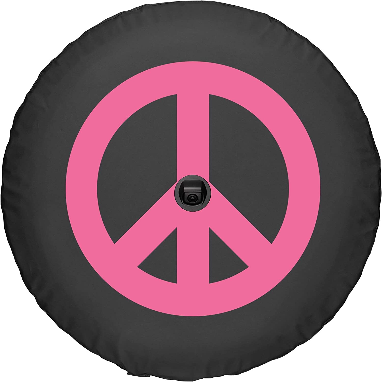Made in The USA - Pink Camo Star Boomerang 32 Soft JL Tire Cover for use with 2018-2019 Jeep Wrangler JL Sport /& Sahara with Back-up Camera
